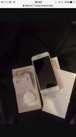 Phone 7 32GB Silver unlocked.