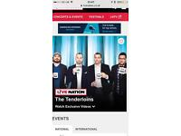 The Tenderloins- Impractical Jokers Tour Cardiff tickets x3 Motorpoint Arena 8 October 2017!!