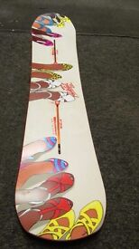Burton parkitect, channel system 2014 all mountain snowboard 07774691083