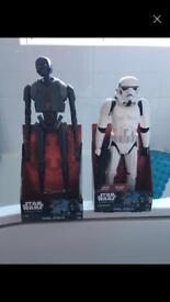 "18"" starwars figures £18 for the pair"