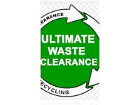 Man and van waste clearance, rubbish removal, commercial waste, garden clearance, shed clearance