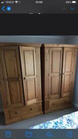 Pine wardrobes for sale