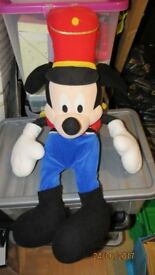 MICKEY MOUSE IN DRUMMER SUIT VERY MUCH LOVED PLUSH TOY