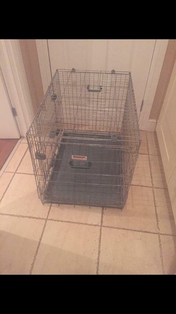 Rosewood Dog Crate
