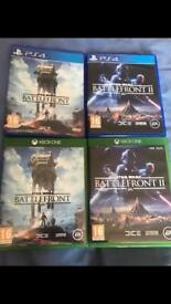 Star Wars Ps4/Xbox one