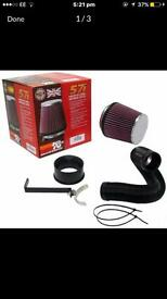 K&N induction kit BMW 118i 318i 120i 320i