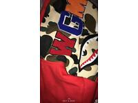 Genuine Red Bape Jacket-New with tags!!