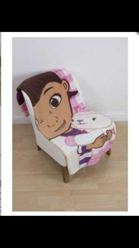 Brand New Doc McStuffins Fleece Blanket
