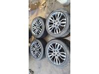 "21"" land Range Rover sport vogue discovery 5x120 alloy wheels alloys Vw transporter"