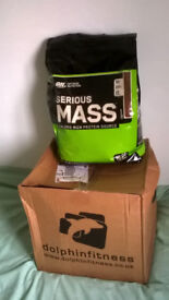 Serious Mass protein supplement for Body Building and Weight Gain.