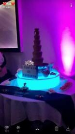 Choc fountain hire/ Mickey and Minnie hire