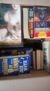 Assorted Books starting at $0.50, $25 for everything!