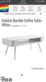 Bumble coffee table Habitat Brand new