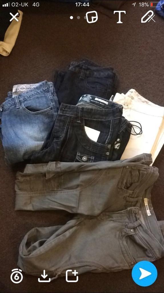 Size 8 job lot women's clothes