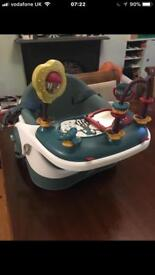 Mamas and papas baby bud with play tray