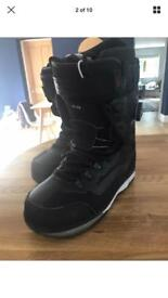 Vans pat Moore infuse snowboard boots size 10