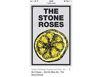 STONE ROSES HAMPDEN PARK STANDING TICKETS