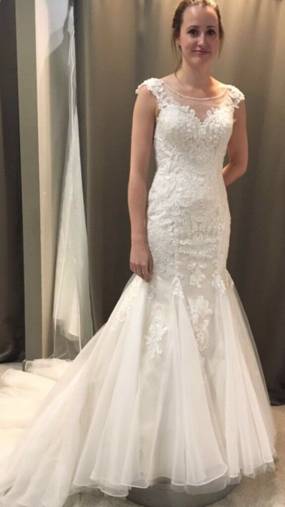 Brand new fish tail wedding dress for sale in a size 8. | in Bishops ...