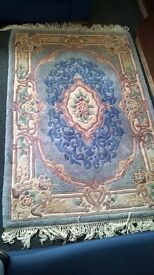Blue Chinese rug 6'x4'