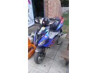 Aprilla 62 plate fast bike when running *project