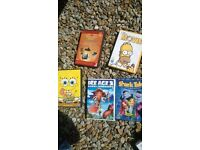 job lot of childrens DVDS, mixed titles