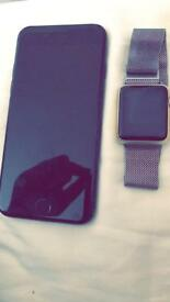 IPHONE 7 128gb AND APPLE WATCH