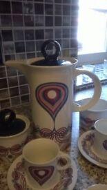 Vintage Pontesa Coffee Set