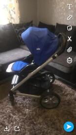 Joie chrome plus pushchair
