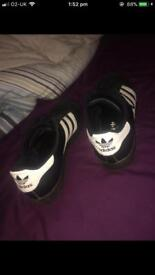 Adidas Superstars Size 9