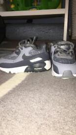 Nike air max infant trainers