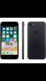 MINT IPHONE 7 128GB MATTE BLACK