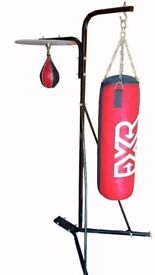 FXR Sports Punch Bag & Speed Ball Stand - NEW