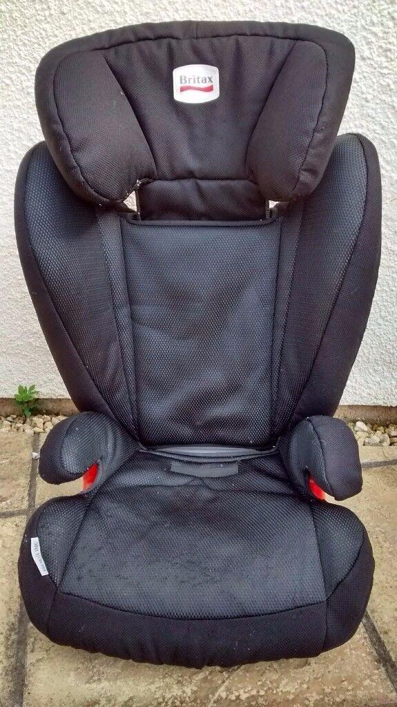 britax romer kidfix bx group 2 3 booster seat isofix. Black Bedroom Furniture Sets. Home Design Ideas