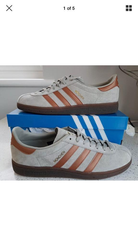 BNWB and tags adidas munchen size 9  96249d35c8ee