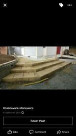 Paving slabs/flags for only £11 per square metre.