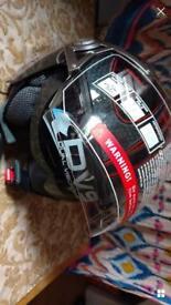 Motorcycle helmet size Medium
