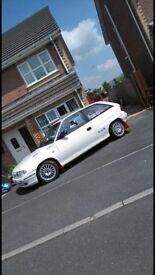 Vauxhall astra rally car