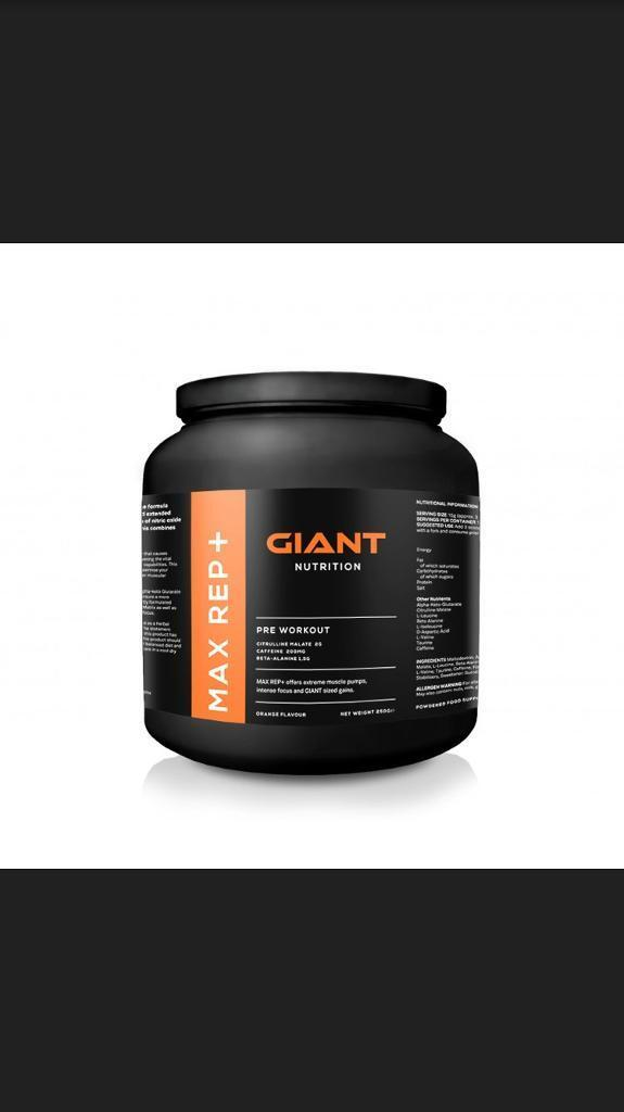 PRE WORKOUT - giant nutrition