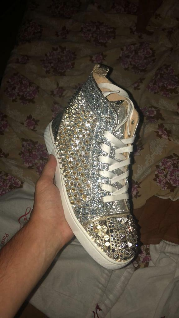 39630abfb89 Christian Louboutin high tops size 40 100% authentic   in Tottenham, London    Gumtree