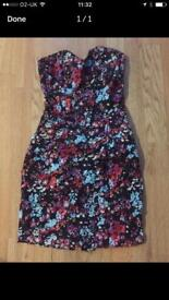Strapless Playsuit Size S