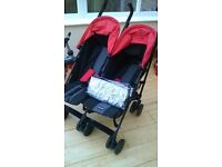 Obaby Apollo twin pushchair - used only once