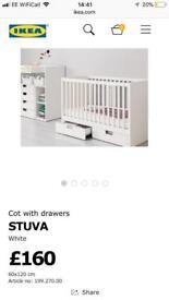 IKEA Stuva cot