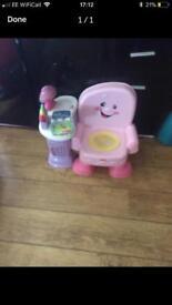 Girls vetch toys