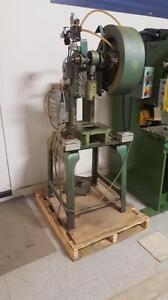 punch press 10 ton air cluch air brake