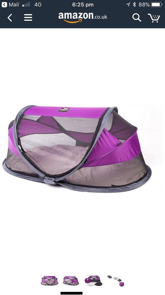 Baby travel tent/cot