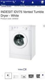 Indesit tumble dryer brand new