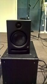 Eris E5 Stuidio monitors /Speakers