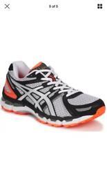 Asics gel kayano 19 trainers uk 8 1/2 brand new