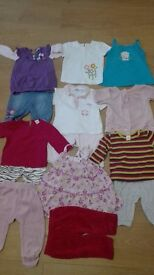 9-12 months baby clothes for girls