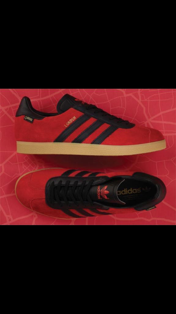 Adidas London Gazelle gtx (size 9)